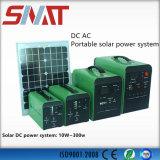 sistema solare di corrente continua 100ah con il regolatore e la batteria incorporati