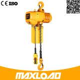 Elevador reparado armazém da carga do trilho de guia/elevadores de frete Chain hidráulicos para a venda