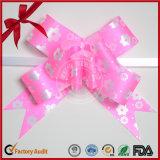 Arqueamiento de empaquetado del tirón del regalo delicado al por mayor de las cintas para el día de la Navidad