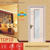 Двойной деревянной покрашенная дверью дверь деревянной двери красная деревянная