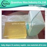 赤ん坊のおむつの原料(LS-0347)のためのHotmeltの薄黄色の付着力の接着剤