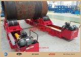 Le type hydraulique A ajusté-vers le haut rotateur/rouleau de réservoir de récipient à pression de rotateur/rouleau de réservoir