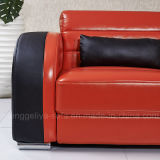 Популярная софа кожи комбинации (906A#)