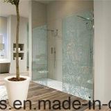 vidrio endurecido 12m m de la pantalla del cuarto de baño de 6m m 8m m 10m m