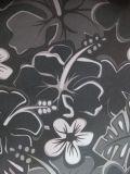 grande tessuto del poliestere di stampa del fiore di 600d Oxford con il PVC