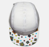 Form Casual White Canvas 3D CFL Logo Camper Cap