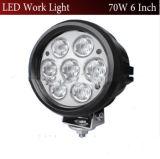 6 des Zoll-70W rundes LED Bucht-Licht Arbeits-des Licht-LED fahrendes hohes des Licht-70W LED