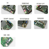 인텔 원자 D525/N550/N450 CPU (D525)를 가진 높은 Effciency 산업 Mainboard