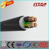 H052xz1-F câble en cuivre, sans halogène, retardateur de flamme, Câbles multi -CORE avec Flexible Cuivre, XLPE