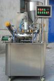 Tipo rotatorio relleno de la taza del agua mineral y máquina del lacre