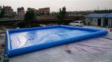 piscine carrée gonflable de PVC de 2016 0.6mm à vendre