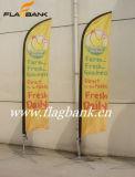 bandierina esterna della piuma di 4.5m 100% Aluminium+Fiberglass/bandierina di spiaggia
