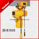 1.5ton, Dual Speed Hoist met Trolley