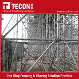 Система лесов Ringlock конструкции Tecon