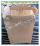 Grande sacchetto enorme di FIBC tessuto pp con la V-Bocca