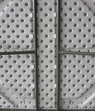 長方形のプラスチックHDPEの折るダイニングテーブル