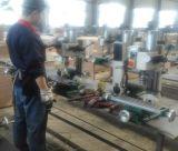 Perforación manual vertical y fresadora (xj12) para la mesa