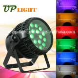 Zoom 18X12W 6in1 impermeable al aire libre del LED Luz PAR