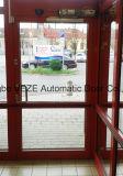 Meccanismo automatico della porta a battenti con il braccio di tiro/braccio di spinta
