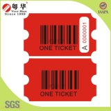 Game Machinesのための180g Barcode Redemption Ticket