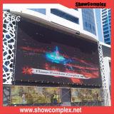 P6 Die-Casting алюминиевый напольный экран полного цвета СИД для рекламировать