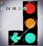 indicatore luminoso pedonale del segnale stradale di 200mm con il conto alla rovescia (rotondo)