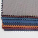 De bronzende Pongézijde van de Polyester controleert Stof Toevallig Jasje