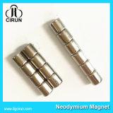 Verzinkter Neodym-Zylinder gesinterte Magneten für Motor