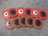 Rodas de nylon abrasivas da aleta