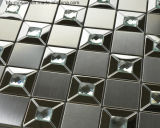 Azulejo del metal del acero inoxidable mosaico de la pared de revestimiento de la pared (FYMG070)