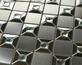 Edelstahl-Metallmosaik-Wand-Fliese für Wand-Umhüllung (FYMG070)