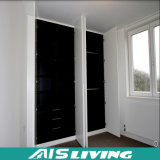 純粋な白は引き出すドアのワードローブの戸棚の家具(AIS-W016)を