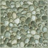 Новые плитки пола конструкций 3D цифров каменные для сада (300X300mm)