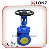 DIN3202 F4 Rising Stem Cast Steel Gate Valve