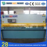 Máquina de corte hidráulica da chapa de aço de QC12y