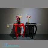 Os chineses misturam a tabela lateral de madeira do estilo europeu Dw-2111t (redondo)