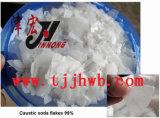 La soda cáustica caliente de la venta (hidróxido de sodio) forma escamas el 99% el 96%