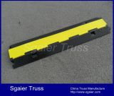 Fabrication Chine Fixable 2 Channels Outdoor Rubber Cable Protector