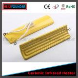 China fêz a placa infravermelha cerâmica personalizada alta qualidade do calefator