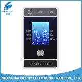 Geduldige Monitor Which Include ECG (Electrocardiograph), U (harttarief), NIBP (niet-invasieve bloeddruk), SpO2, PR (polsslag), Temp (lichaamstemperatuur)