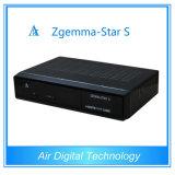 Zgemma-Estrella S del equipo de la difusión del receptor basado en los satélites de DVB S/S2