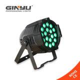 FAVORABLES 18pcsx10W IP20 no impermeabilizan la luz de la IGUALDAD de la etapa del zoom del LED