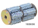 スカリファイヤーマシンKL-165E 1.1キロワット220-380V * 3相と/ 60Hzの電気モーター、Td165ドラムと80PCS 110636カッターと108PCSワッシャー