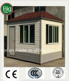 Casa pré-fabricada do baixo pagamento/Prefab móvel da caixa de sentinela