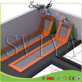 Indoor Funny Slam Dunk Olympic Gymnastique Trampoline Basketball Hoops
