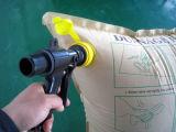 Recycleer Bruine OEM van het Luchtkussen van het Stuwmateriaal van Kraftpapier Opblaasbare Fabriek