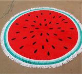 Toalha de praia redonda da cópia feita sob encomenda quente de Microfiber da venda