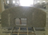 Tiger Skin White Granite Kitchen Countertop for Bathroom / Vantity