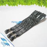 Plastic LockのActivityのための流行のWoven Wristband