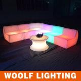 LED Commerical 바 가구 커피용 탁자 LED 바 테이블
